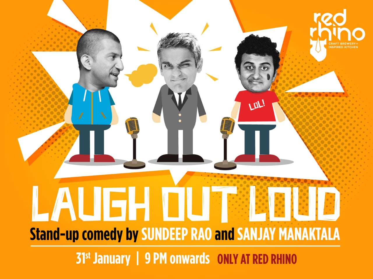COMEDY NIGHT ON THURSDAY